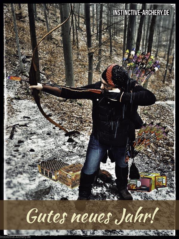 Ich wünsche dir ein gutes neues Jahr - Instinctive-Archery.de