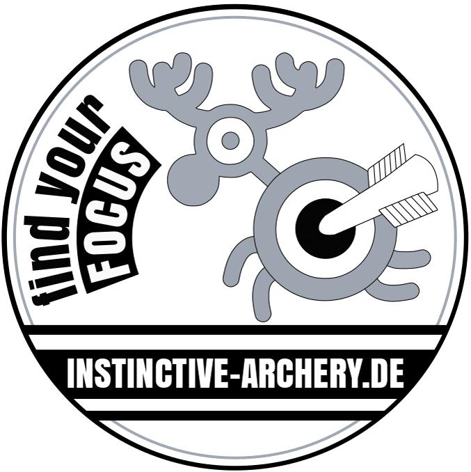 Button gesamt Instinctive Archerybeschnitten-bogenschiessen