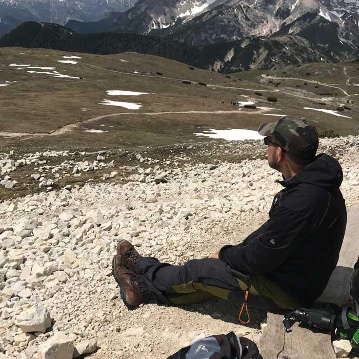 Holger Bär Aussicht Berge